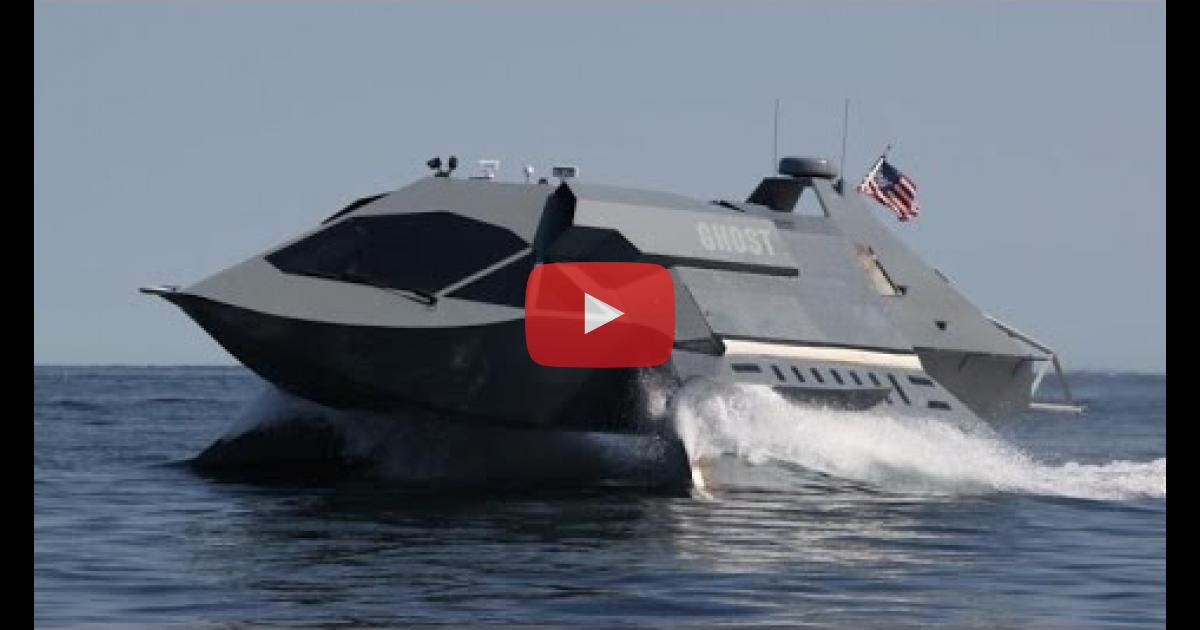 Super Fast Stealth Attack Boat For The Us Military And Navy